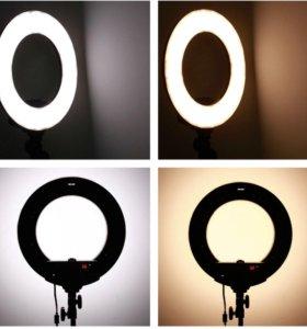 Кольцевая лампа LED 14 дюймов с 2-мя регулировками