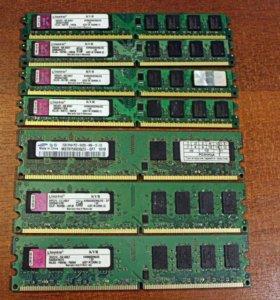 Оперативная память ddr2, ddr3