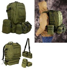 Рюкзак мужской с тремя съемными сумками в комплект