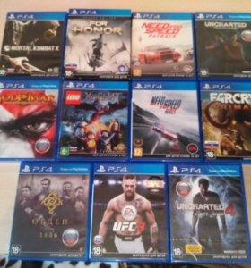 игры PS4+UFC 3