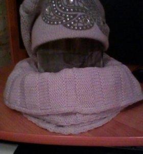Комплект (шапка+ шарф)