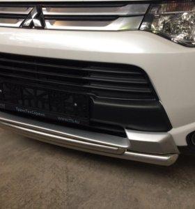 Пороги и дуги на Mitsubishi Outlander 2014