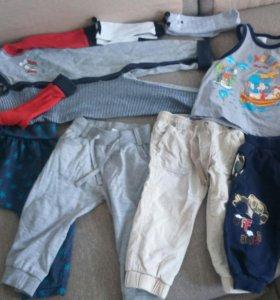 Вещи на мальчика пакетом