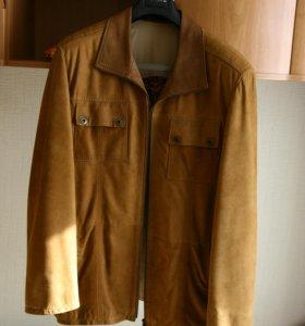 Замшевая куртка. 54 размер