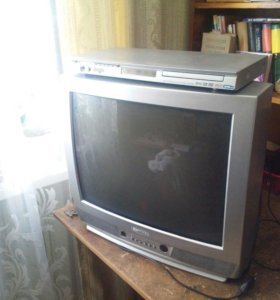 Телевизор Витязь favorite 21 (DVD в подарок)