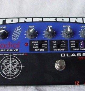 Гитарная педаль ламповая TONE BONE Tube Drive