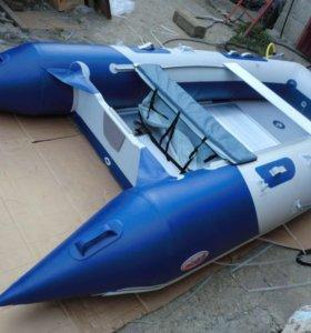 Лодка Badger HD 370 и мотор Hidea 9,9-15