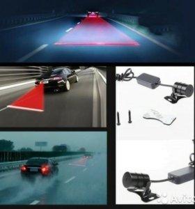 лазерная проекция стоп линии для авто