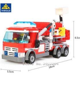 Конструктор KAZI «Пожарная машина» (аналог Lego)