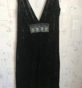 Платье (велюр)