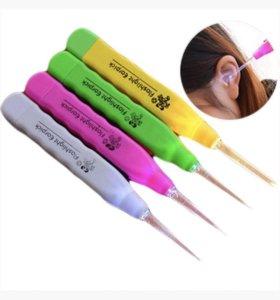 Инструмент для чистки ушей у детей с подсветкой