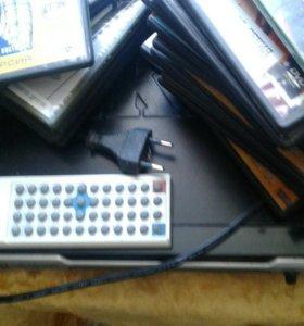 DVD-плеер с дисками
