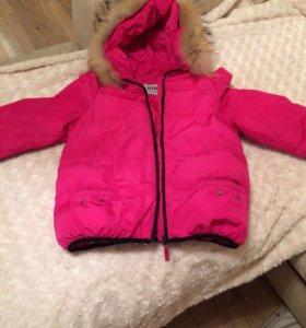 Куртка для девочки демисезонная