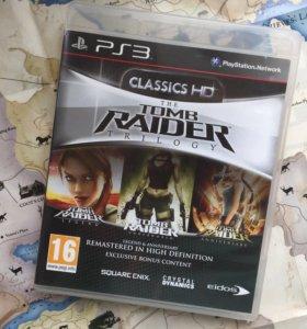 Лара Крофт Трилогия HD для PS3