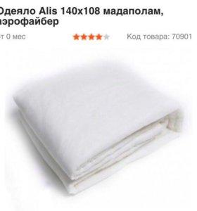 Одеяло детское Alis 140х108 мадаполам, аэрофайбер