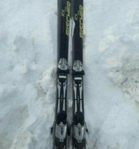 Горные лыжи с сапогами