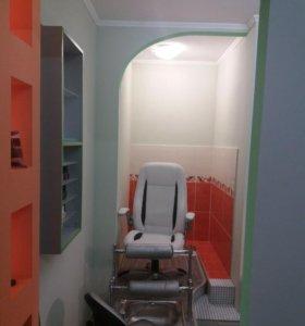 Рабочее место для мастера по маникюру и педикюру