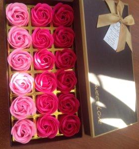 Подарок на 8 Марта 18 роз из мыло