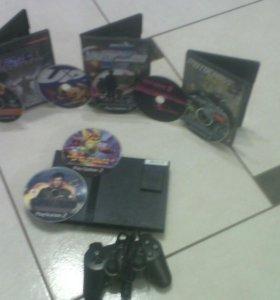 Sony PS2 перепрошитая под DVD