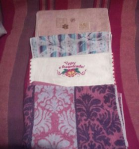 4 маленьких полотенца