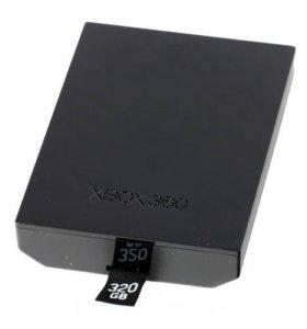 Жесткий диск на xbox 360 (320GB)