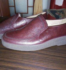 Мужские туфли фирма саламандра