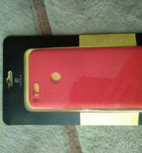 Чехол и защитное стекло на Xiaomi Mi A1
