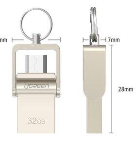 USB Microusb Flash Drive 16 gb