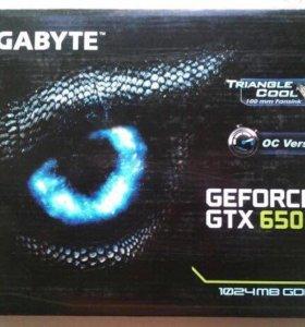 Игровая видео карта GTX650ti