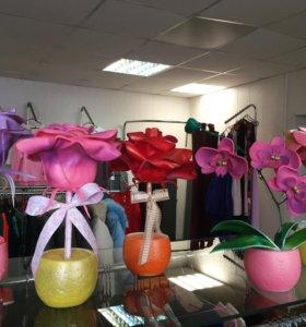 Цветы декоративные в подарок