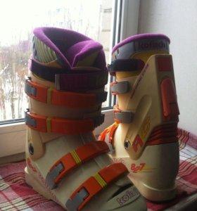 Горнолыжные ботинки.