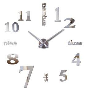 Часы из акрила