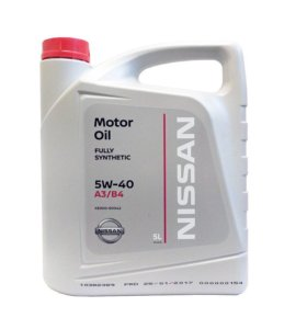 Моторное масло Nissan Engine Oil 5w-40 4 литра