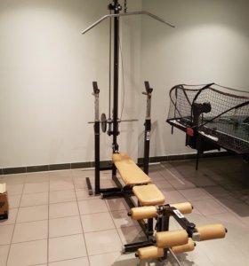 Многофункциональный тренажер для тренировок