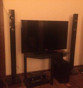 Телевизор + аудио система