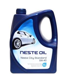 Моторное масло Neste Sity Standart 5w-40 4 литра