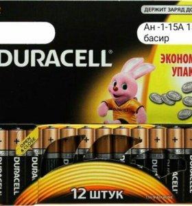 Батарейки уп 12 шт пальчиковые и мезинчековые