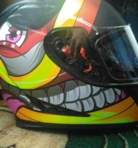Мото шлем !