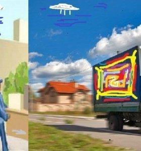 Автоуслуги возим грузим +газель+ грузчики