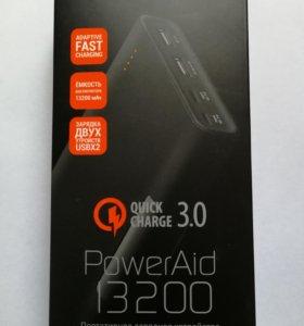 QUMO PowerAid QC 3.0 13200 mAh.