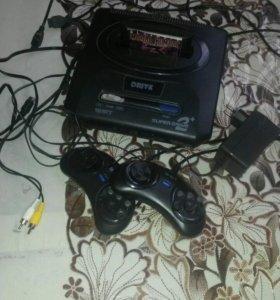 Игровая приставка Sega 16 bit