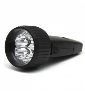 Фонарик LED HG-528-5 5 светодиодов Аккамулятор