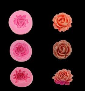 силиконовые формы для поделок, украшения для торт