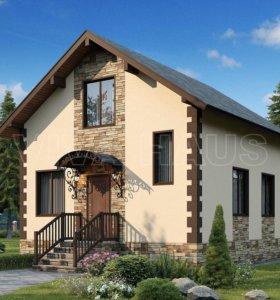 Дом из СИП-панелей ВЕСТА (домокомплект) 106м2