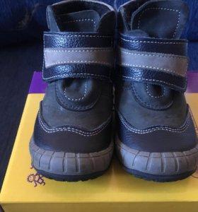 Детские ботинки,размер 22,весна-осень