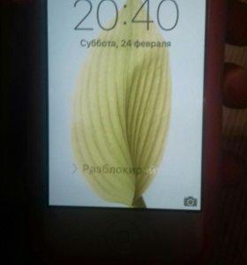 Айфон 4S+чехол +внешний аккумулятор