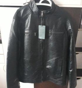 Куртка кожзам новая р. 52-54