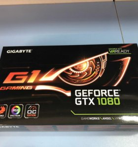Видеокарта Gigabyte GeForce GTX 1080 G1 GAMING