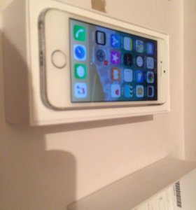 iPhone 5s 16gb silver a1457
