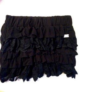 Мини юбка из кружева